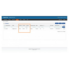 Admin search customers and orders by telephone or postcode