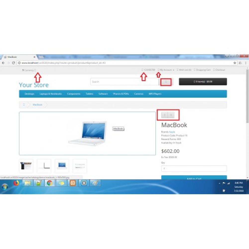 Fix OpenCart broken icons problem